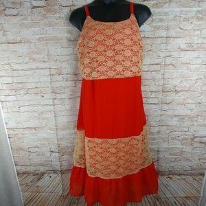 Jessica Taylor 70's style slip dress size 3x